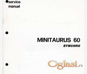 Same Minitaurus 60 Synchro - Radionički priručnik