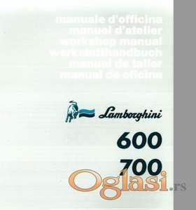 Lamborghini 600- 700 Radionički priručnik
