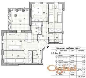 KLISA, 93 m2, 124700 EUR