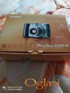 Prodajem fotoaparat Canon A720 IS