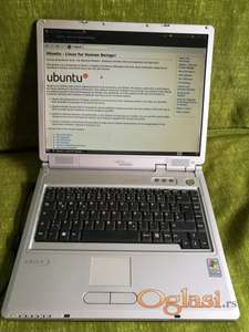Fujitsu Siemens Amilo L7300 na Ubuntu 10.10