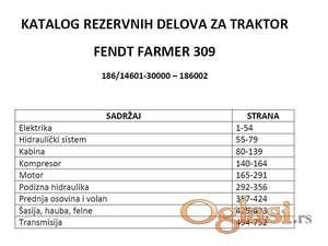 Fendt Farmer 309   (186/14601-30000) Katalog rezervnih delova