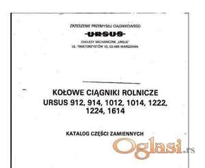 Ursus 912-914-1012-1014-1222-1224-1614 Katalog delova