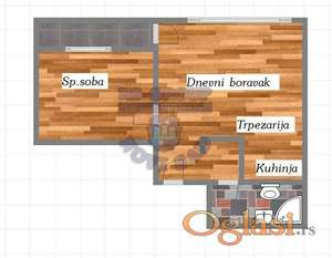 Nov jednoiposoban stan, Podbara, sa povratom PDV-a! 065/63-855-37
