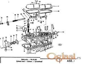 Universal 445 - Katalog rezervnih delova