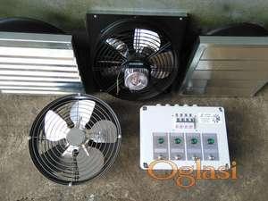 Ventilatori,zaluzine,regulatori