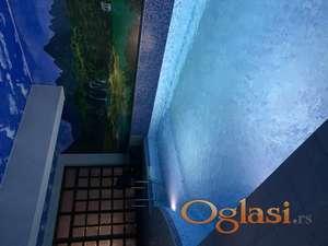EKSKLUZIVNO- izdavanje apartmana sa zatvorenim bazenom i saunom.