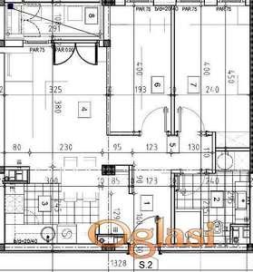 Lux, u izgradnji, povrat PDV-a, dve spavaće sobe ID#1529