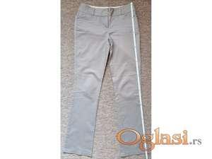 Orsay kvalitetne sive prugaste pantalone