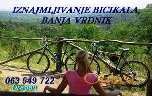 RENT A BIKE Banja Vrdnik, Fruška gora