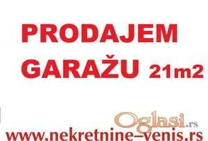 GARAŽA - NOVA DETELINARA - ul.Janka Veselinovića 21 m2 – 21630 Evra ID#1350