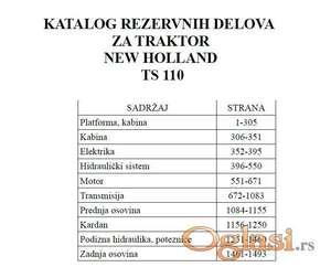 New Holland TS 110 - Katalog delova