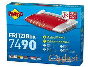 FritzBox 7490 profi gigabitni 1.3gbs MESH Dual Band 4G EXTRA