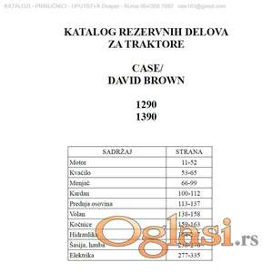 Case / David Brown 1290 - 1390  Katalog delova