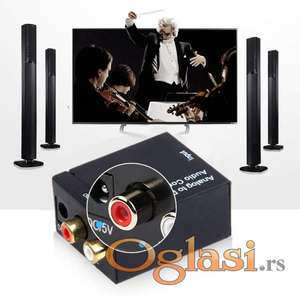 Konvertor digitalnog signala u analogni RCA za nove Tv itd