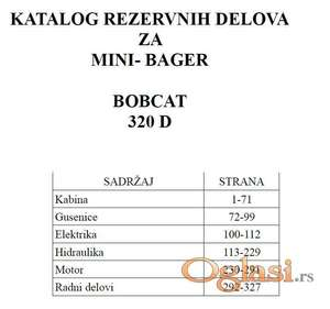 Bobcat 320D/322D -320G/322G   Katalog rezervnih delova