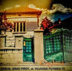 Prodajem kucu u Pirotu