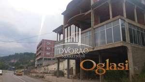 Stamebeno-poslovni objekat u Novom Pazaru ID#1065