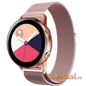 Pink roze narukvica za Samsung sat watch, Huawei Watch sat