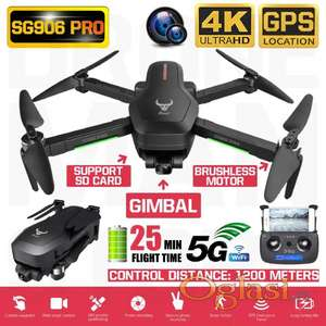 Dron SG906 PRO Beast WiFi FPV 4K- 5G sa GPSom