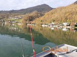 Raj za odmor i pecanje u Culinama na samoj obali Drine(Jezero)).