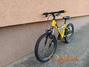 """Deciji bicikl Polar Tornado 20"""" amortizer 6 brzina"""