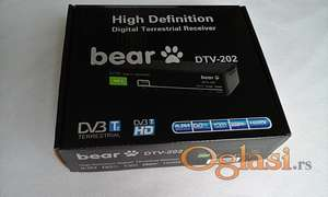Set Top Box Bear DTV-202. Novo.