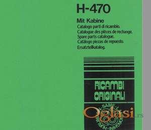 Hurlimann 470 - Katalog delova