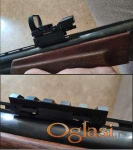 Pikatini za ventilirajuću šinu lovačke puške ČELIČNA