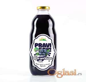 Matični sok od DIVLJE BOROVNICE - (100% voće)