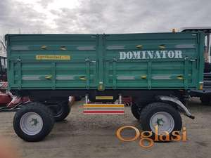 Prodaja novih prikolica Dominator - prikolica 10 tona