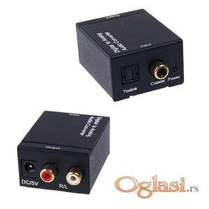 D-A konvertor iz digitalnog audio signala u analogni