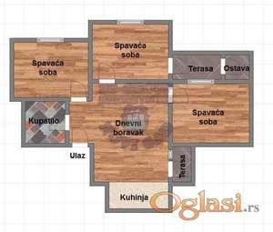 Četvorosoban stan u izgradnji * 021/6322-111 *