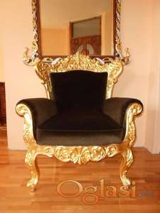 Stilske fotelje,rucni rad,novo