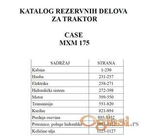 Case MXM 175 - Katalog delova
