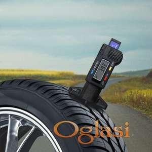 Digitalni merač dubine šare na gumama