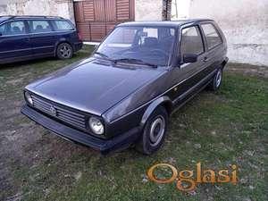 Volkswagen Golf 2, 1991.