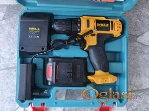 Aku srafilica DEWALT + pribor + dve baterije