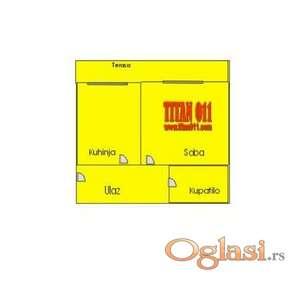 funkcionalan jednosoban stan sa terasom ID#3151390