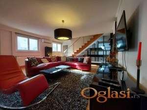 Izdavanje stanova Beograd/ Petosoban lux stan, duplex penthouse, garaza