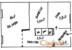 Blok 70a, Dr Agostina Neta, 1.0, 33m2 ID#1074