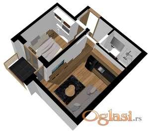 Na prodaju manji stanovi u centru grada! Novogradnja!