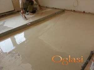 Izravnavanje podova salmoliv olmo masa