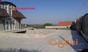 EXTRA LUX VILA 500m su+Pr+1 Fruška gora plac 6000m FULL pogled na grad i Dunav