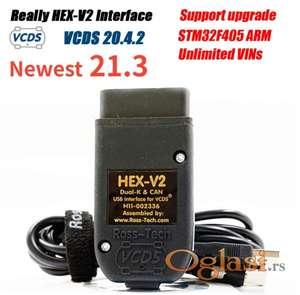 VCDS Ross-Tech HEX-V2 VAG COM 21.3 VAGCOM 20.12.0