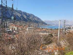 Urbanizirano zemljiste u Kotoru. Pogled