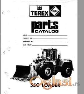 Terex C55 - Katalog delova