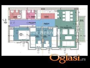 Centar-ODMAH USELJIV TROIPOSOBAN STAN 72 m2 NA POŽELJNOJ TOP LOKACIJI-povrat PDV