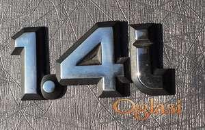 Ford Escort 4 IV 1.4i oznaka