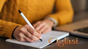 Pišem radove (osnovna, srednja škola i fakultet)